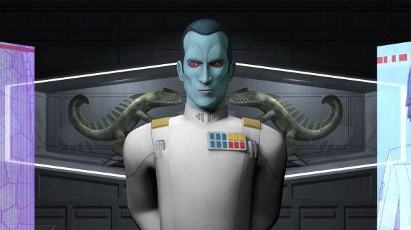 Star Wars Rebels Season 3 Thrawn Image