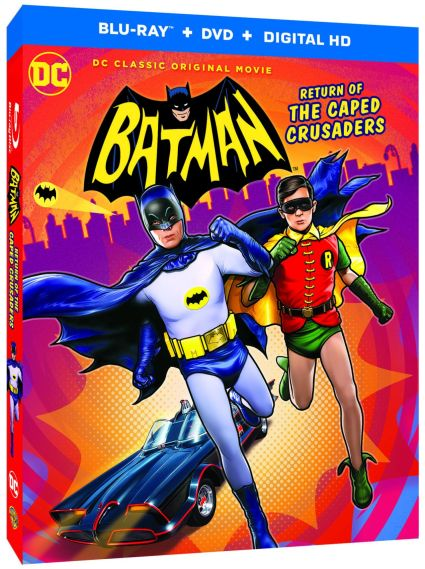 Batman Return of the Caped Crusaders Blu-ray