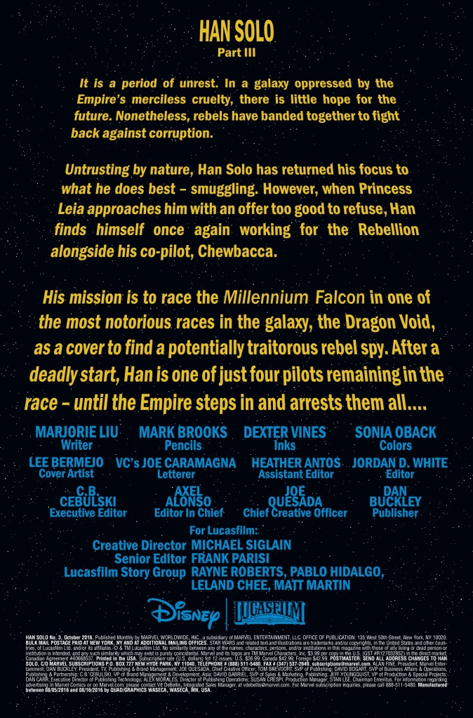 Han Solo #3 Page #1