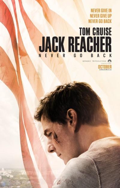 Jack Reacher Never Go Back Poster #1