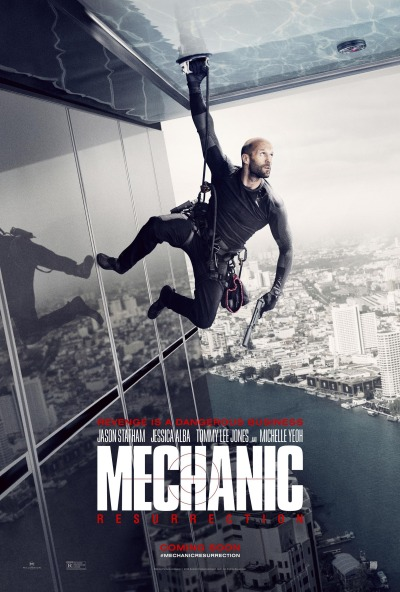 Mechanic Resurrection Poster #1