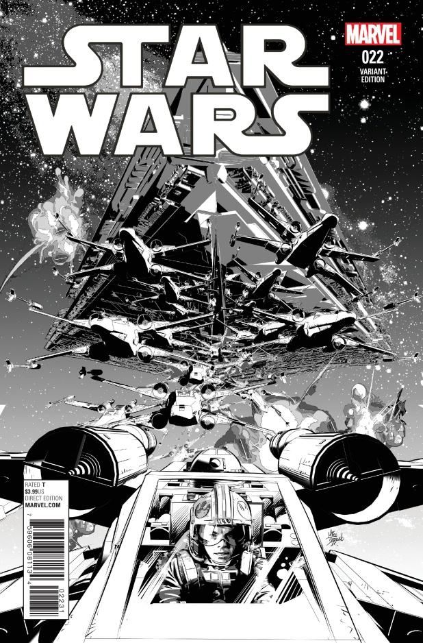 Star Wars #22 Cover B