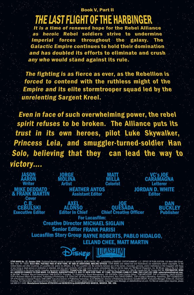 Star Wars #22 Page #1