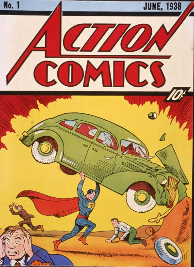 Superman's 1938 Action Comics #1