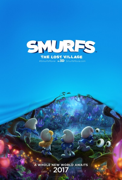 Smurfs The Lost Village Poster#1
