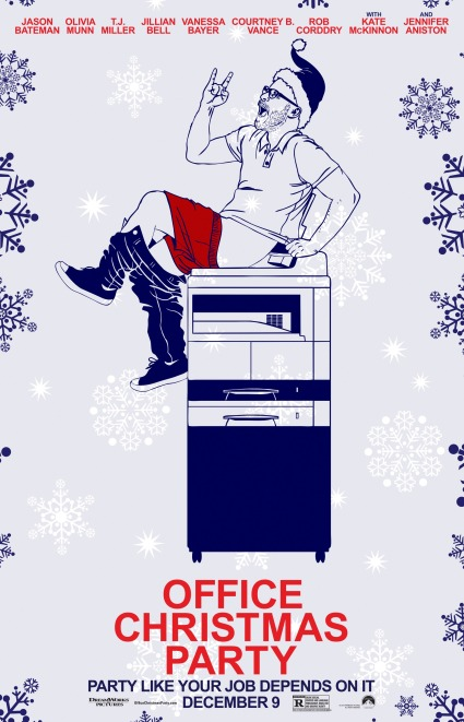 office-christmas-party-poster-13