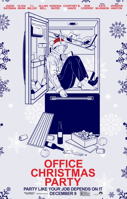 office-christmas-party-poster-17