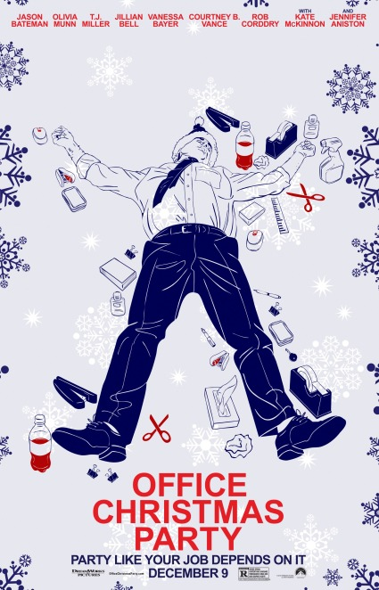 office-christmas-party-poster-19