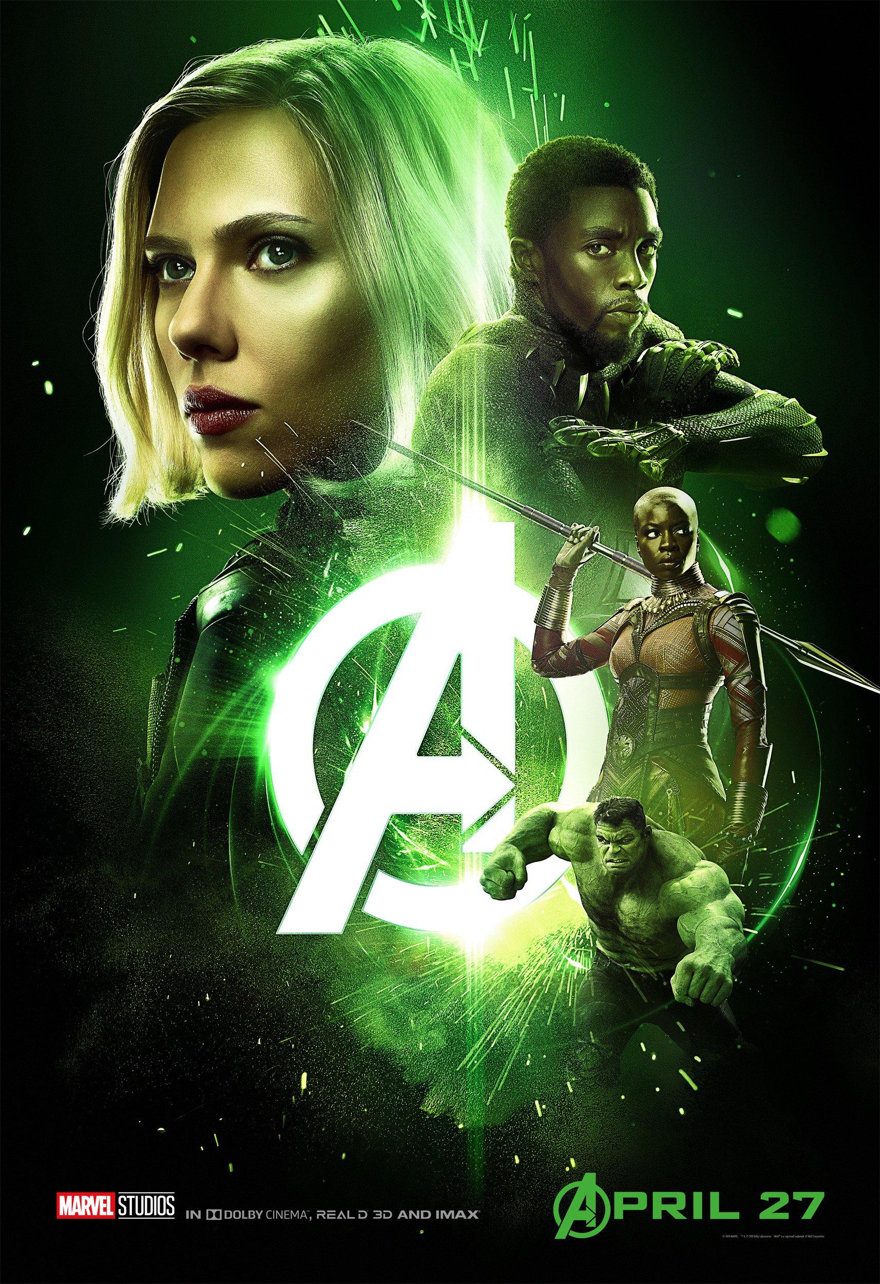 New Avengers Infinity War Postersreggie S Take Com