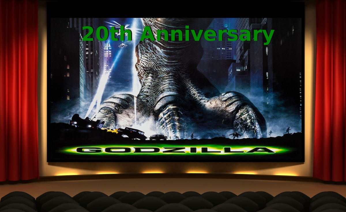 Godzilla (1998) 20th Anniversary