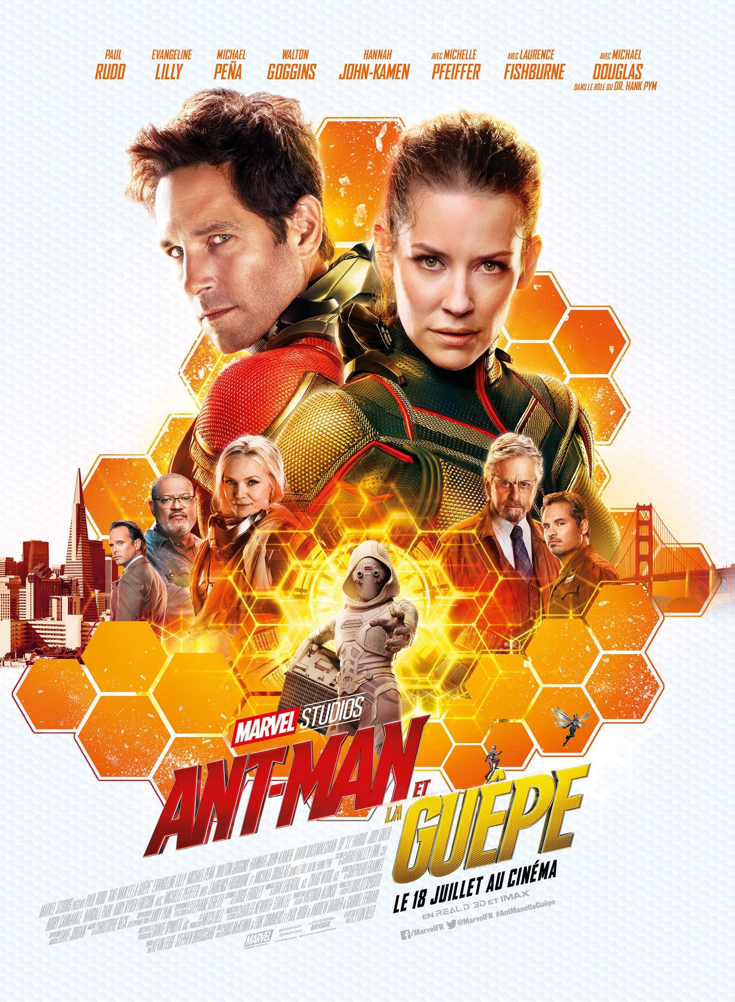 Ant Man And The Wasp Poster 11reggie S Take Com