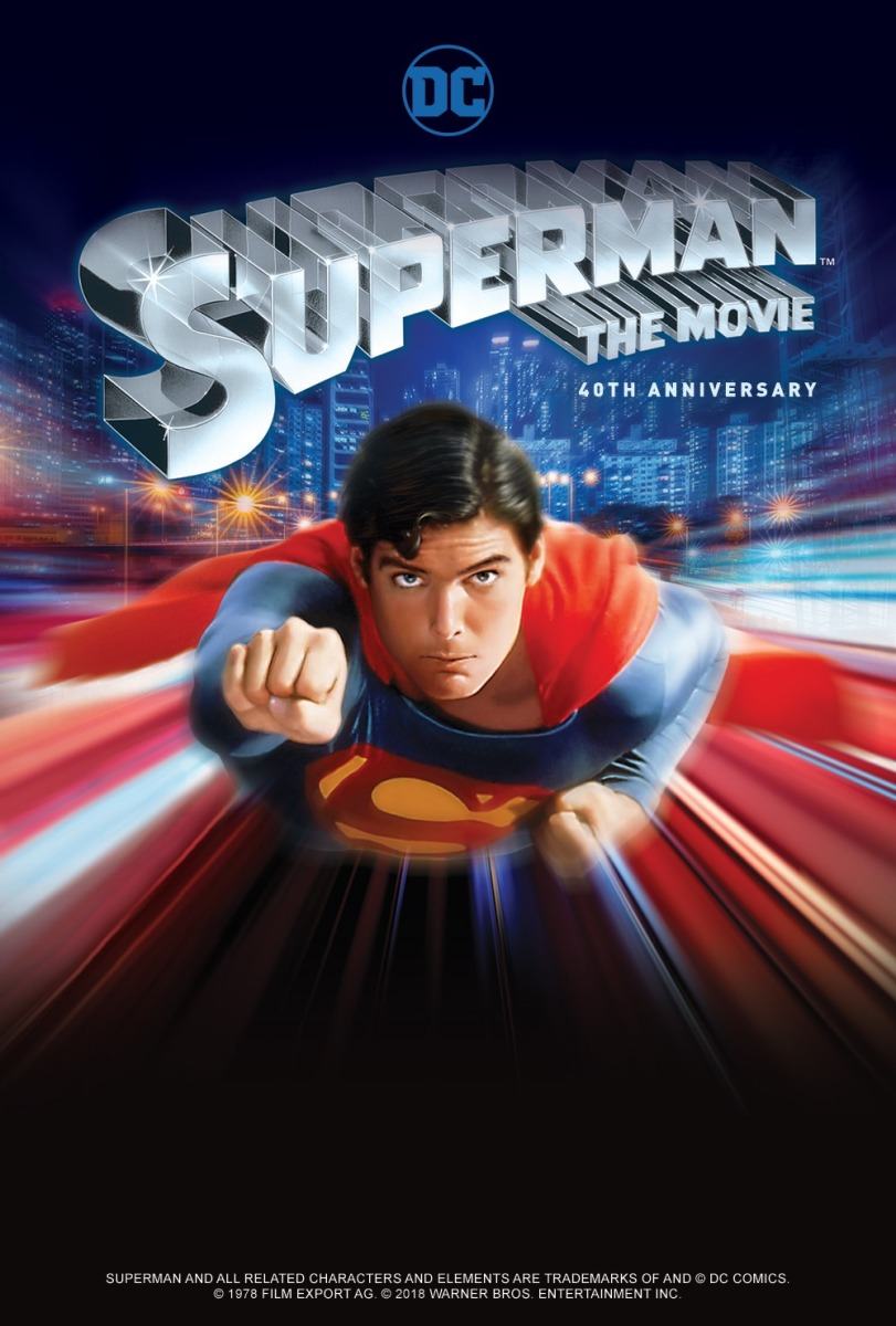 Superman The Movie 40th Anniversary Poster