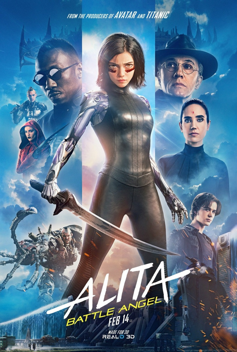 Alita Battle Angel Poster #17