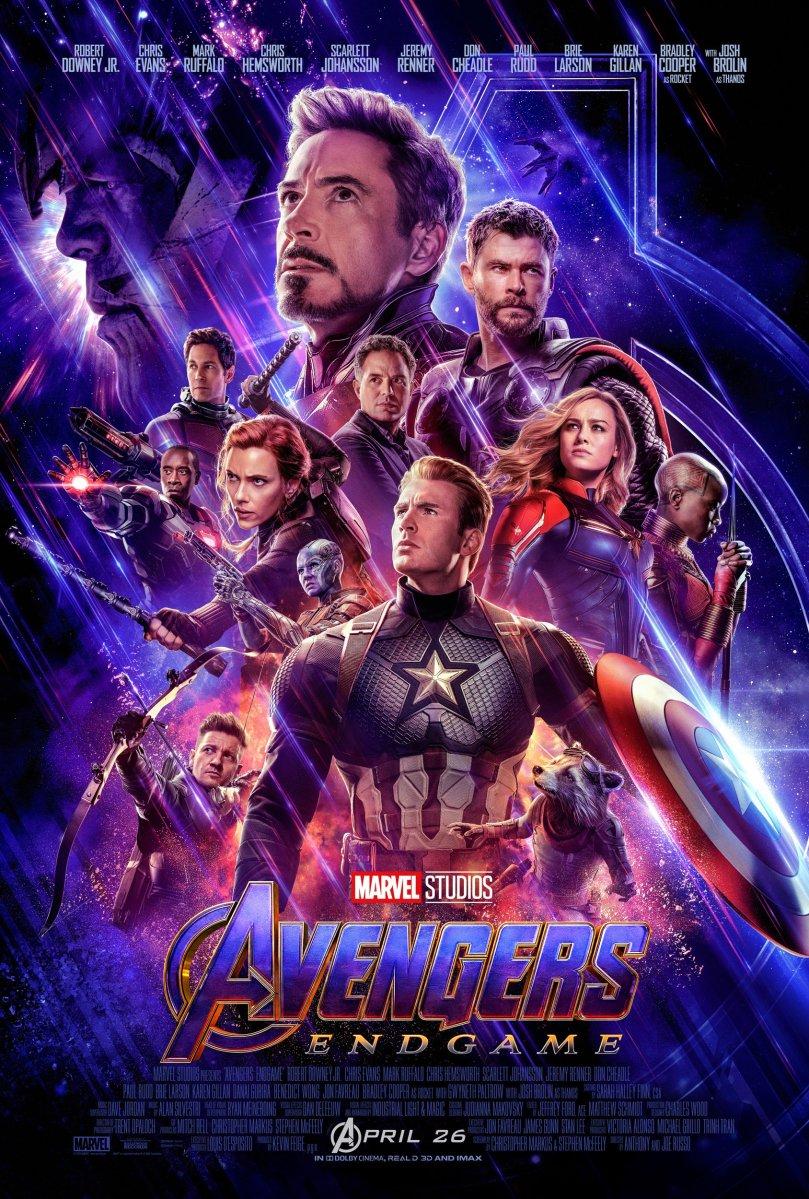 Avengers Endgame Poster #2