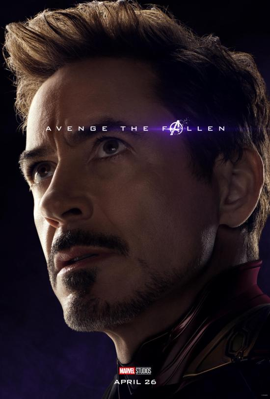 avengers  endgame new character posters and