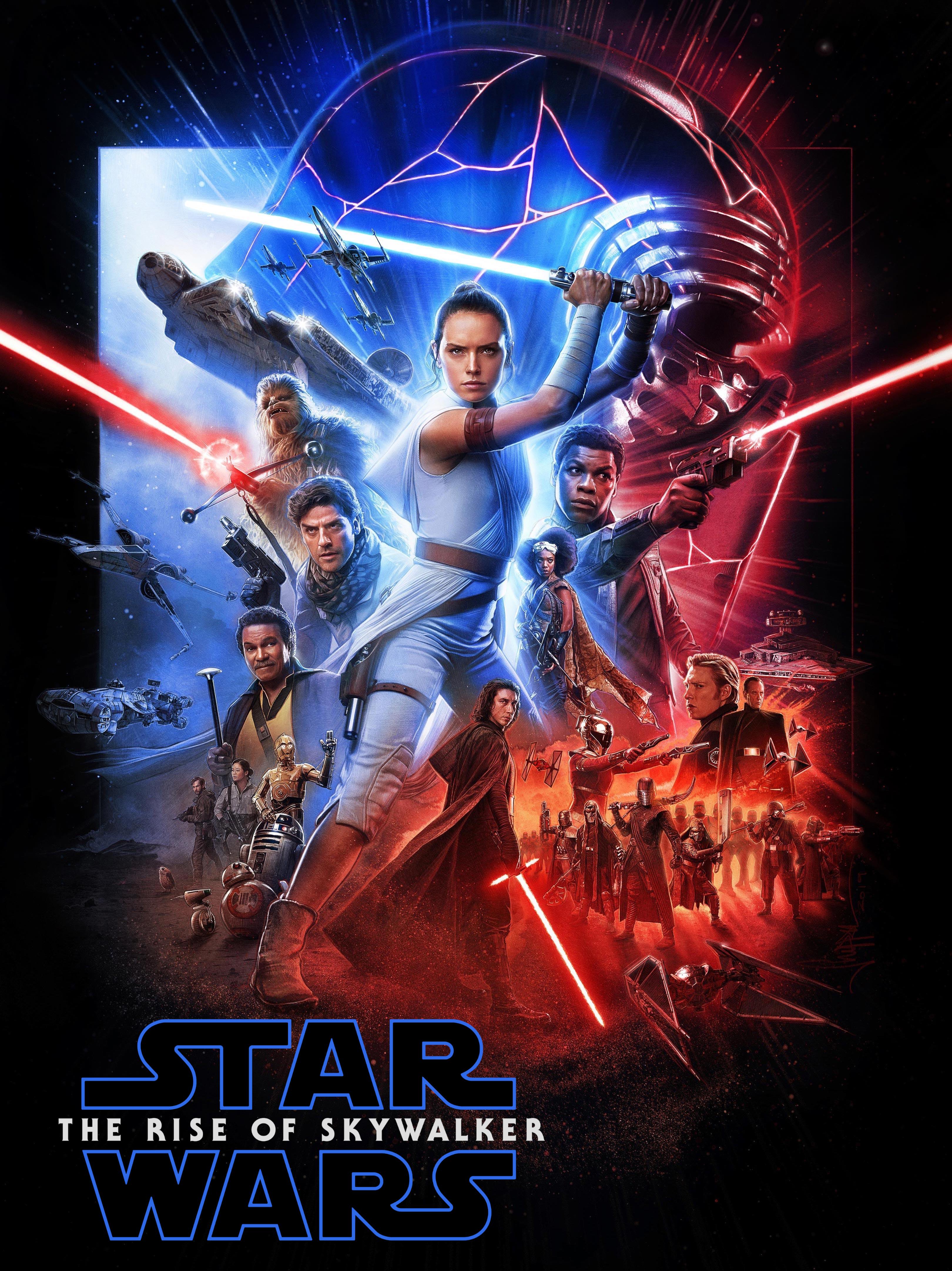 Star Wars The Rise Of Skywalker Paul Shipper Alt Posterreggie S Take Com